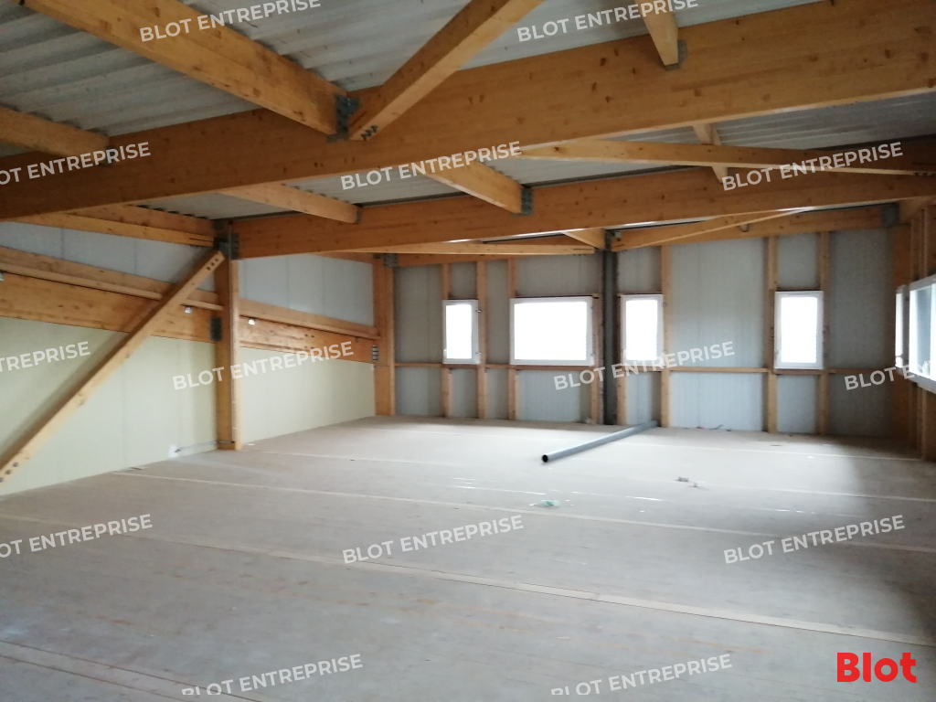Visuel 1 de l'annonce : Location - Bureaux neufs - Brest - Guipavas - 200 m²